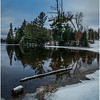 Adirondacks Lake Abenakee 2 December 2016
