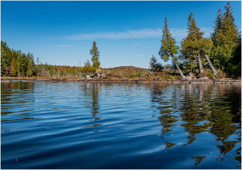 Adirondacks Forked Lake Paddle 31 October 2019
