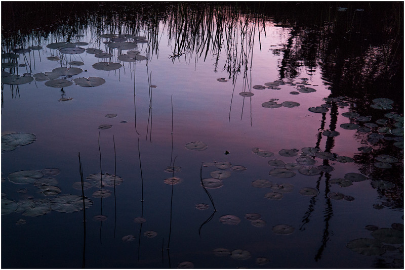 Adirondacks Chateaugay Lake Sunset from Snug Harbor Camp 7 July 2016