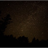 Adirondacks Olmstedville Starscape from Hornbeck Pond 2 August 2016