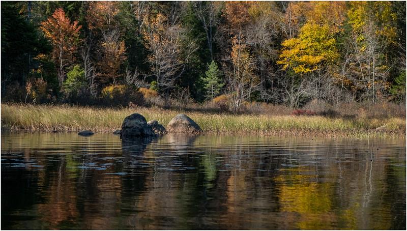 Adirondacks Forked Lake Paddle 6 October 2019
