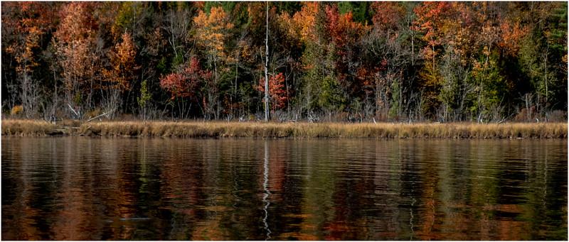 Adirondacks Forked Lake Paddle 4 October 2019