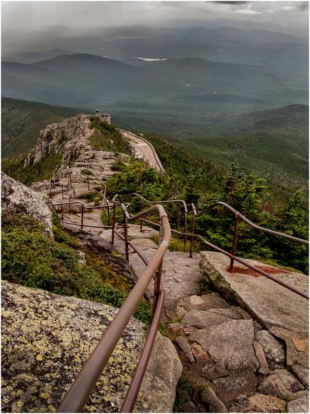 Adirondacks Whiteface Mountain Alpine Scene 9 August 2008