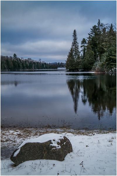 Adirondacks Lake Abenakee 3 December 2016