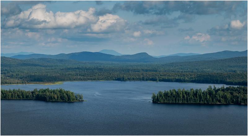Adirondacks Lake Lila LEAG from Mt Frederica 6 August 2019