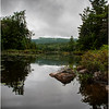 Adirondacks Wakely Pond from Road July 2012