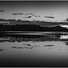 Adirondacks Rollins Pond Evening 25 BW August 2019