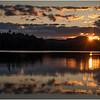 Adirondacks Rollins Pond Evening 20 August 2019