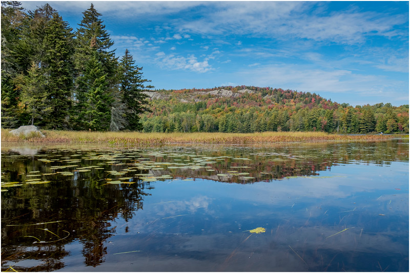 Adirondacks Bog River Hitchins Pond Lows Ridge 22 September 2019