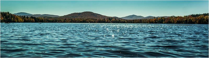 Adirondacks Lake Abanakee October 2015 View South
