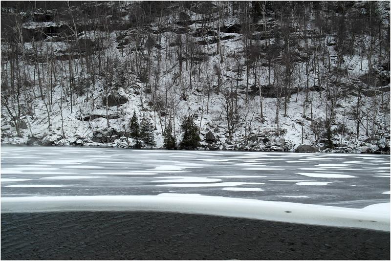 Adirondacks Cascade Lake 7 November 2012