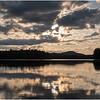 Adirondacks Rollins Pond Evening 3 August 2019