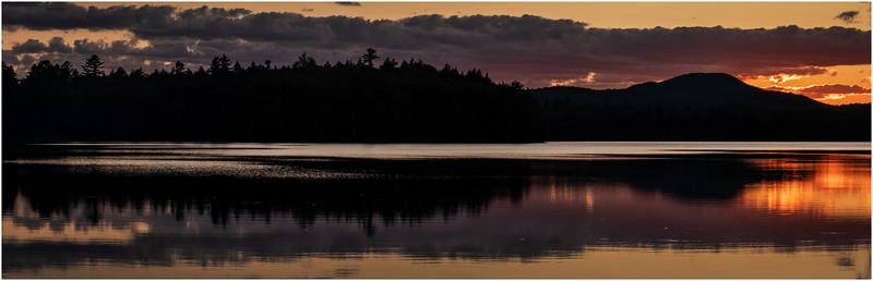 Adirondacks Rollins Pond Evening 27 August 2019