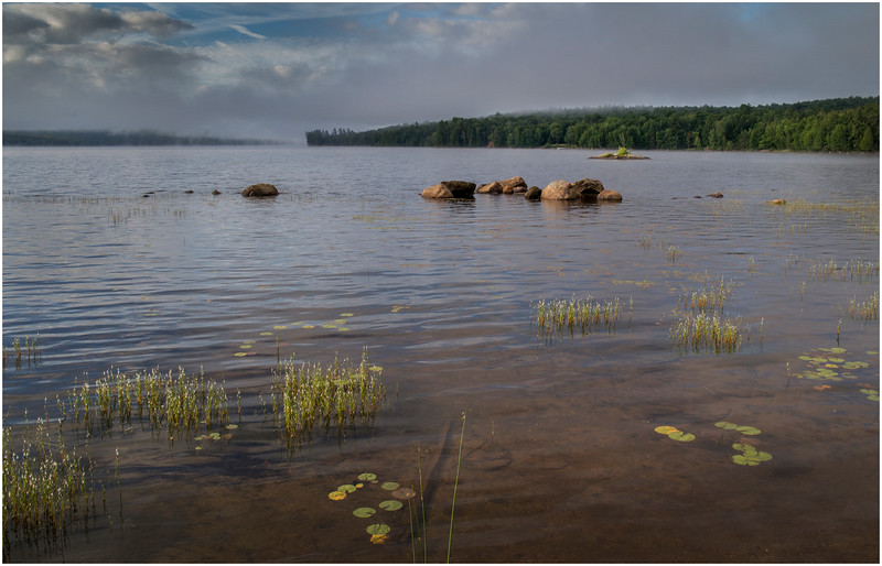 Adirondacks Chateaugay Lake Duck Island Bay 31 July 2016