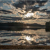 Adirondacks Rollins Pond Evening 4 August 2019