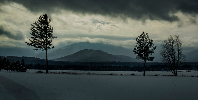Adirondacks North Elba Mountain Clouds 4 January 2018