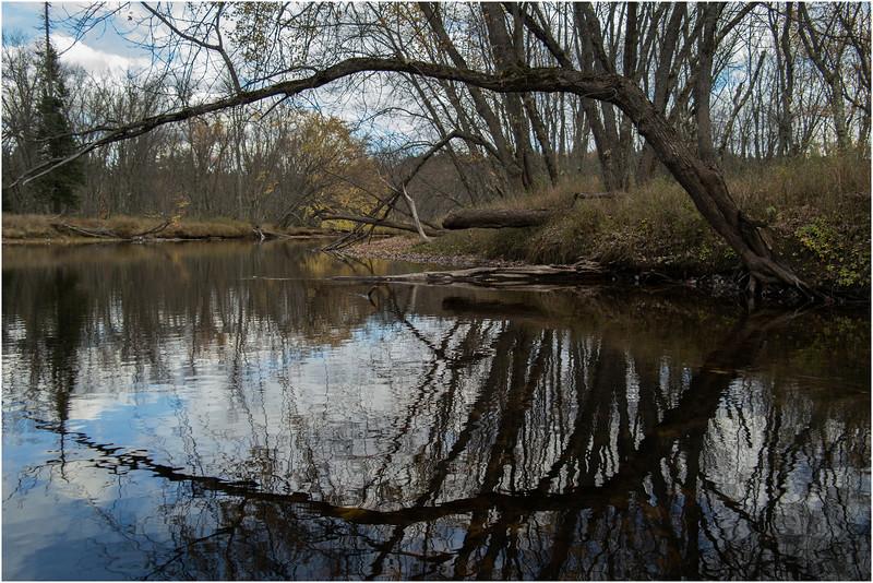 Adirondacks Raquette River Near Axton 9 October 2012