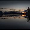 Adirondacks Rollins Pond Evening 23 August 2019
