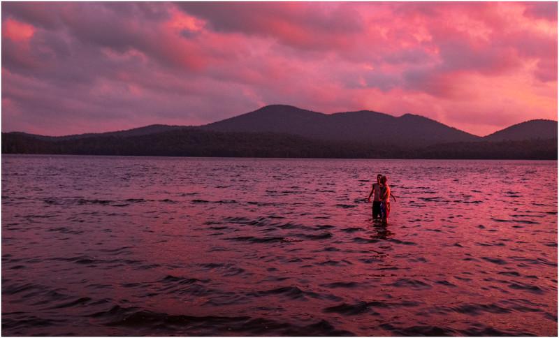 Adirondacks Lake Eaton Sunset 9 July 2019