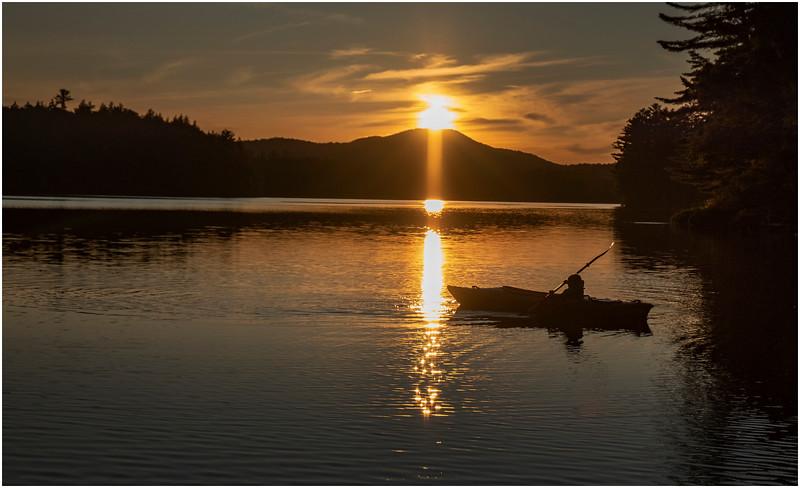 Adirondacks Rollins Pond Evening 36 August 2019