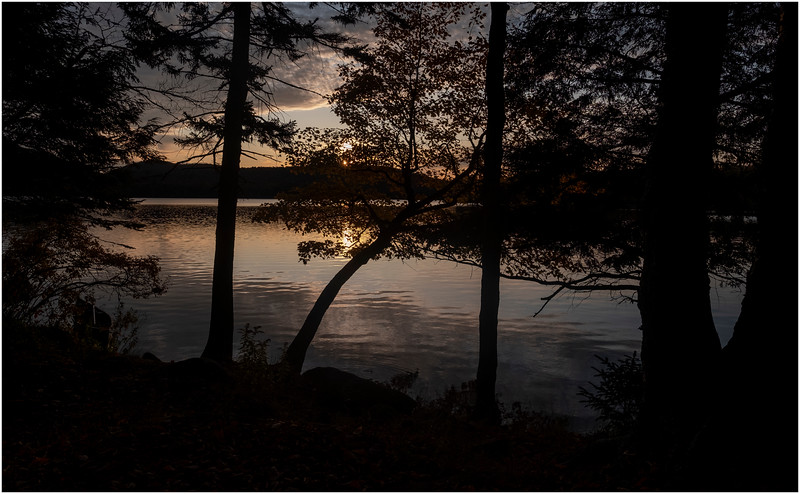 Adirondacks Lake Eaton Sunset 1 October 2019