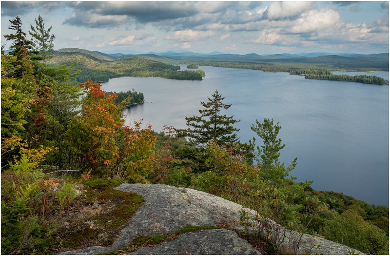 Adirondacks Lake Lila LEAG from Mt Frederica 10 August 2019