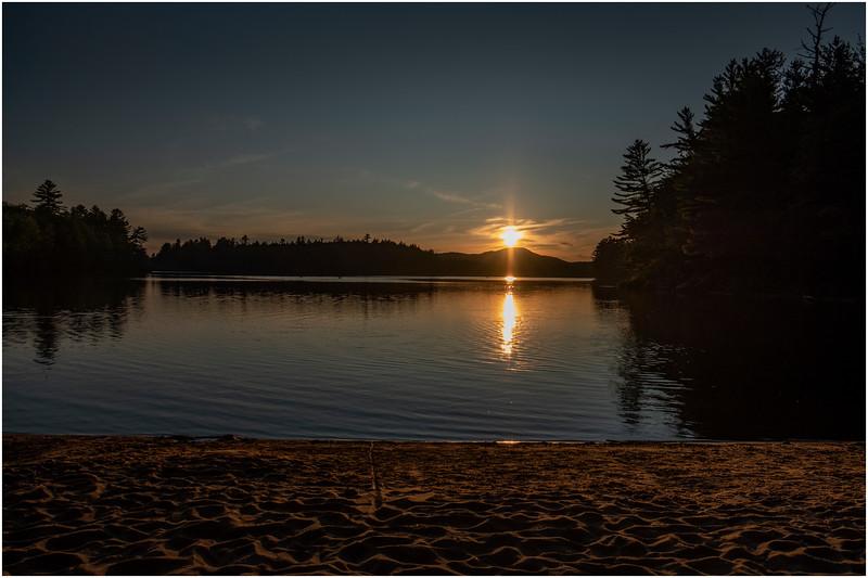 Adirondacks Rollins Pond Evening 33 August 2019