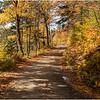 Adirondacks Whitney Wilderness Lake Lila Access Road 5 at Charlie Pond October 2012