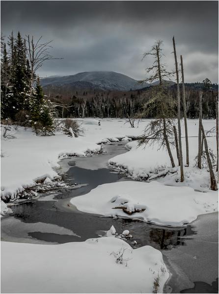Adirondacks Tahawus Hudson River 4 March 2018
