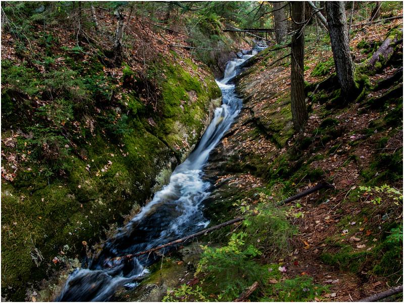 Adirondacks Utowana Flume October 3 2009