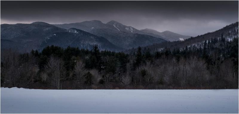 Adirondacks Great Range Wolf Jaws Keene Valley 1 March 2018