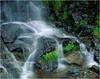 Adirondacks Classics Waterfall Freschette near Keene Valley 4x5 circa 1996