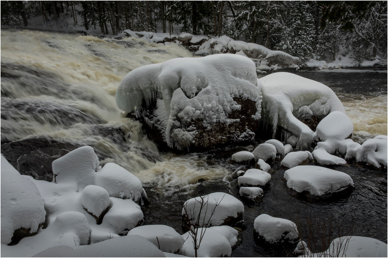 Adirondacks Buttermilk Falls 3 March 2018