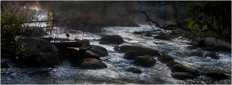 Adirondacks Marion River in Frost 7 October 2009