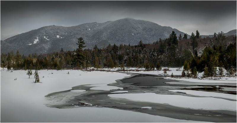 Adirondacks Lake Sanford Hudson River 4 March 2018