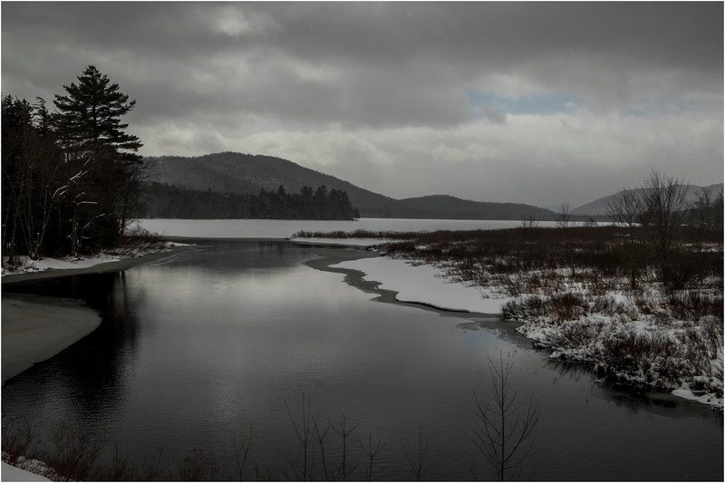 Adirondacks Lewey Lake 1 March 2018