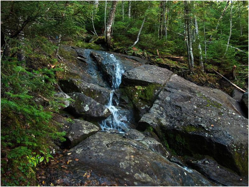 Adirondacks Algonquin Trail Outcrop and Stream September 2010