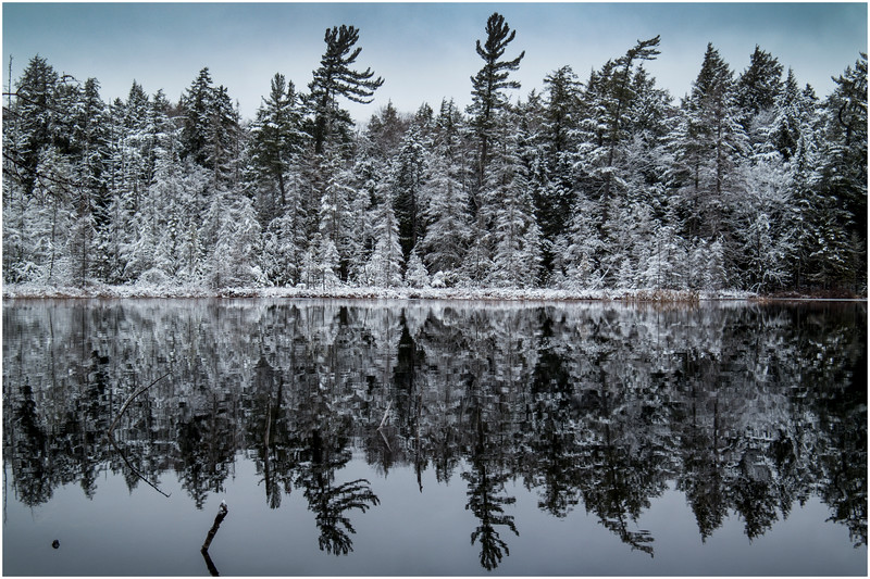 Adirondacks Follensby Clear Pond 3 December 2016
