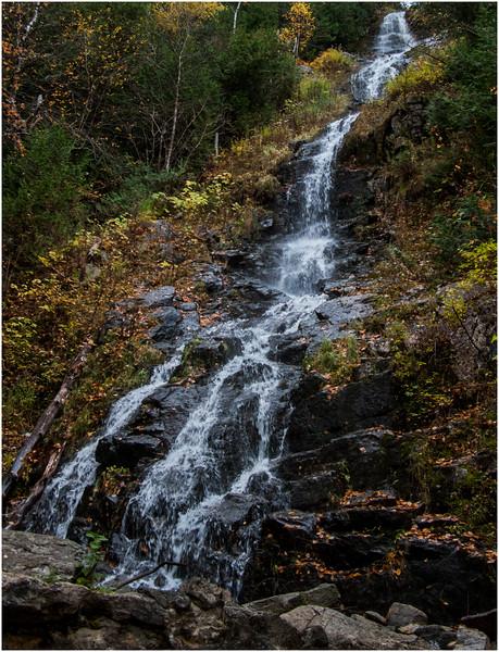 Adirondacks Cascade Lakes Falls Between Lakes 2 October 2009