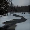 Adirondacks Arietta Winter Stream 3 March 2018