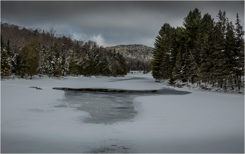 Adirondacks Lake Sanford Hudson River 1 March 2018