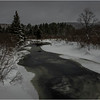 Adirondacks Arietta West Branch Sacandaga River 1 March 2018