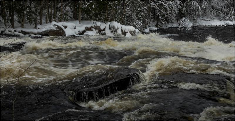 Adirondacks Buttermilk Falls 9 March 2018