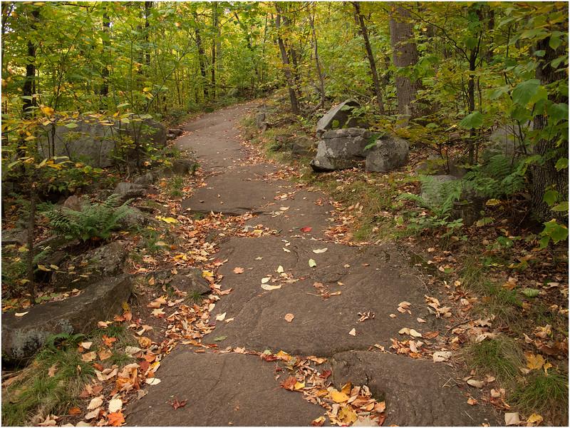 Adirondacks Hadley Mountain Trail 7 September 2010