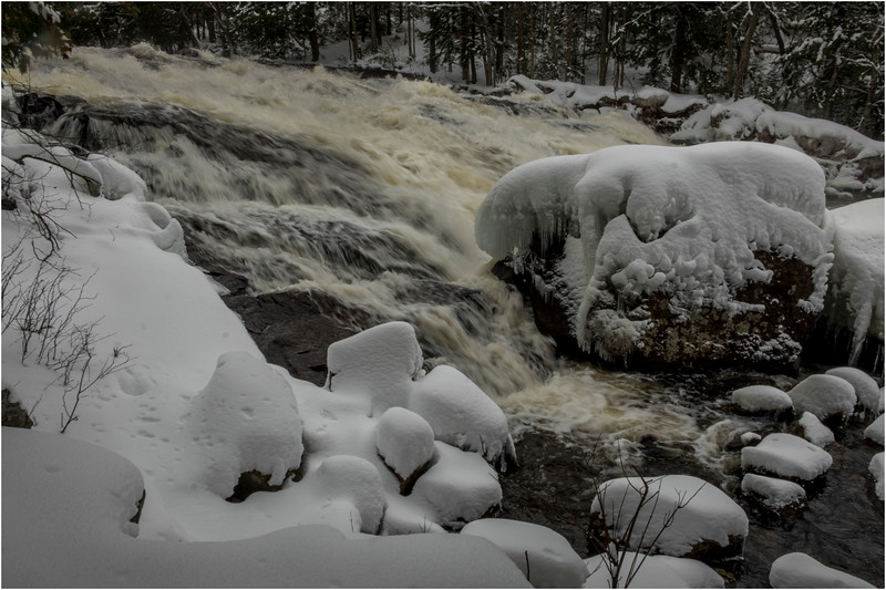 Adirondacks Buttermilk Falls 4 March 2018