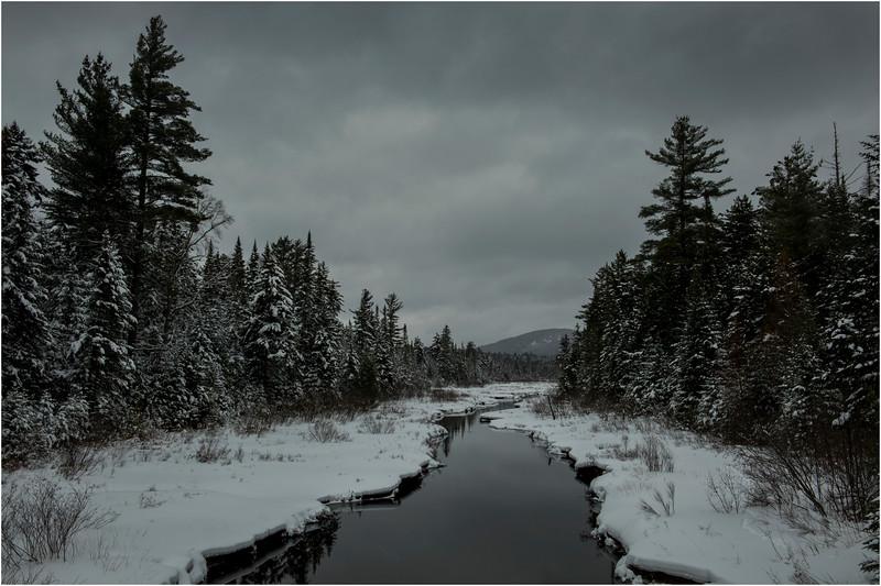 Adirondacks Grampus Lake Outlet 1 March 2018