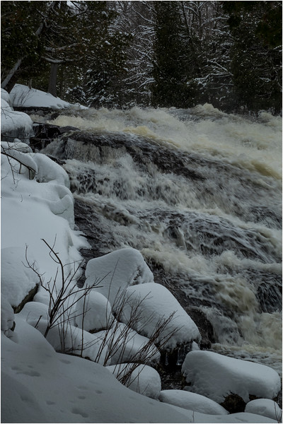 Adirondacks Buttermilk Falls 1 March 2018