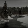 Adirondacks Arietta West Branch Sacandaga River 7 March 2018