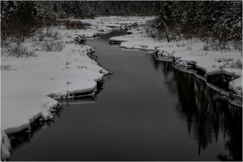 Adirondacks Grampus Lake Outlet 2 March 2018