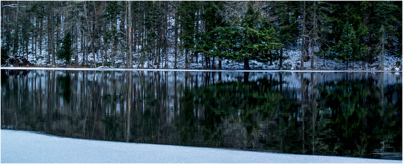 Adirondacks Lake Abenakee 14 December 2016